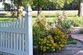 Separate garden area