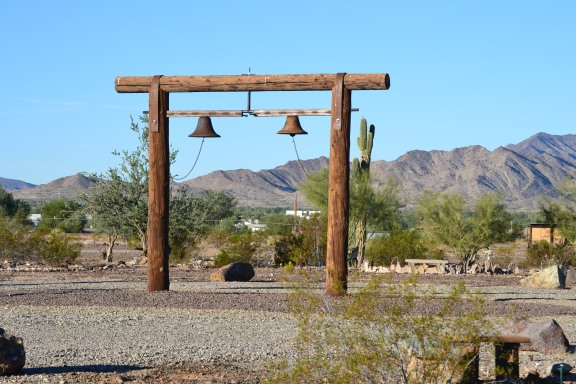 CRG landscape bells with mtns in background