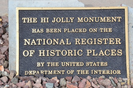 Hi Jolly Historic Register Sign