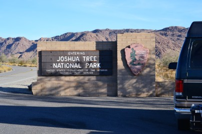 Joshua Tree NP Sign