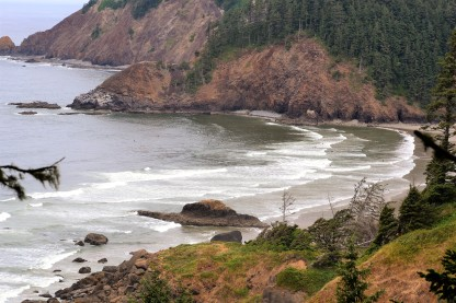 Crescent Beach in Ecola State Park, OR
