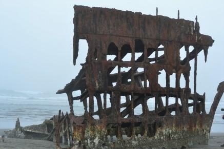 Wreck of the Peter Iredale, Ft. Stevens northwest Oregon Coast