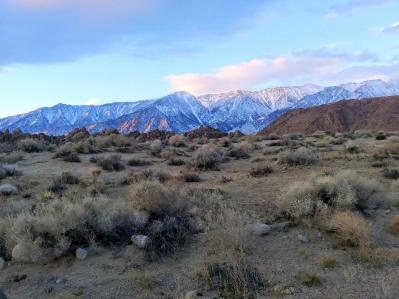 Alabama Hills March 2020 Dawn is Breaking