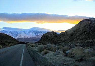 Sunrise Alabama Hills March 2020